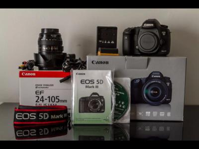 Varios Electronica Canon EOS 5D Mark III Body \/w KIT(24-105 IS) SLR Camera 23.4MP