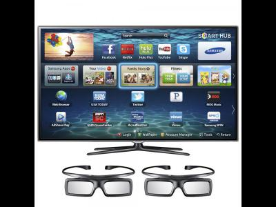 "Varios Telefonos y Tablets Samsung UN60ES8000 - 60"" LED Smart TV - 1080p (FullHD)."